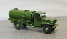 Dinky B & B (British Army) Studebaker 4 X 4 Military Water Bowser Code 3