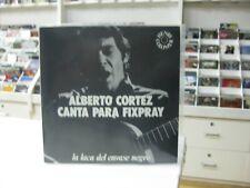 """Alberto Cortez 7 """" Flexi Spanish Canta Per Fixpray 1978 Gatefold Promo"""