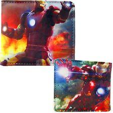 New Mens Marvels Iron Man Hulkbuster Age Of Ultron Bifold Wallet Purse anwall7
