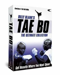 Billy Blanks' Tae Bo: The Ultimate Collection DVD 4 programmes R4 New