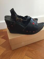 Ash Wooden Wedges In Size 7 or 40
