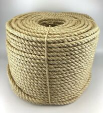 6mm x 20m Sisal Rope 100% Natural Fibre Cat Scratch Post, Decking, Garden Arbour