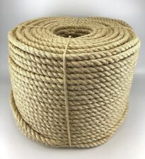 4mm Natural Sisal Rope x 150 Metres, Decking Rope, Garden, Cat Scratching Post