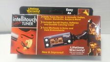 Intellitouch PT-1 Clip-On Tuner for Guitar Bass Cello Violin (many instruments)