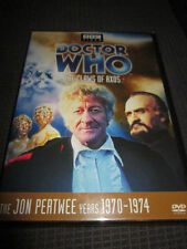 Doctor Who - The Claws of Axos (DVD, 2005) Jon Pertwee is Dr Who REGION 1 BBC