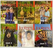 1st Grade 1 Journeys Set of 6 Decodable Readers Common Core Houghton Mifflin HMH