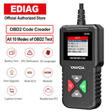 OBD2 OBDII Check Engine Diagnostic Car Auto Fault Code Reader Scanner Tool I/M