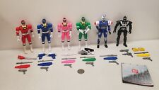 Power Ranger TURBO Double Action KEY Rangers Set morpher megazord Phantom