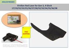 Viridian Red Laser for Gen 3, 4 Glock 17/19/22/23/25/26/27/28/32/33/34/35/36/38