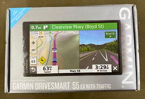 Garmin DriveSmart 55 EX - 5.5 inch GPS Navigator - Black....NEW!!!