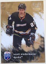 2007-08 SCOTT NIEDERMAYER UPPER DECK BE A PLAYER PLAYER'S CLUB #7 DUCKS #77/99