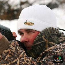 AVERY GREENHEAD GEAR GHG FLEECE SKULL CAP HAT BEANIE SNOW CAMO WHITE