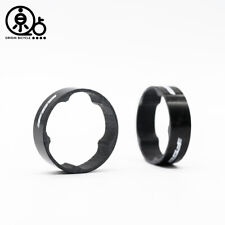 FSA  1-1/8 in Super Lightweight Carbon  Headset Spacers 10mm  2pcs
