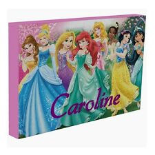 Disney Princess (2) - Personalised Personalized Mounted Canvas Picture 23x35cm