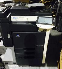 Konica Minolta BizHub C203 Color Copier Printer Scan Fax PLUS Finisher LOW Count