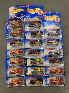 Lot of 20 hot wheels 1/64 Tow Truck Rig Wrecker 1/64 Brand New