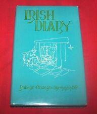 "*1962 1st* ""Irish Diary"" By Robert E. Brennan O.P.  HC/DJ  VG+++"