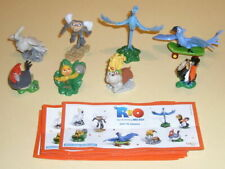 RIO COMPLETE SET OF 8 WITH ALL PAPERS KINDER SURPRISE 2011 FERRERO