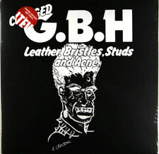 GBH / Charged G.B.H ‎– Leather Bristles Studs & Acne LP Red Vinyl New Re (2016)