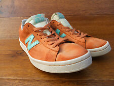891 Naranja Gamuza Informal New Balance Zapatillas Size UK 7.5 EUR 41.5