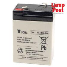 Yucel 6 V 4Ah 6 V 4 A 4 Amp SLA Alarme Batterie YL4-6V