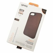 Brown Mayfair Case Cover for Apple Iphone 7/8 D3O Impact Protection by Gear4
