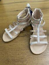Arizona Jean Company Memory Foam Angel Gladiator Sandals Girls size 2-New!