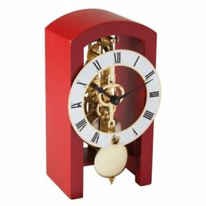 Hermle 23015-360721 Red Modern Table Clock