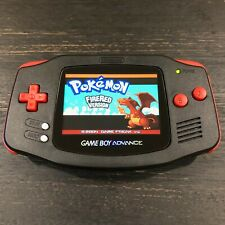 Gameboy Advance Backlit Custom Bundle with EVA Travel Case- MINT CONDITION
