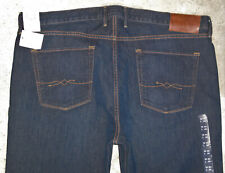 Lucky 363 Vtg Straight Jean Men 40 x 33 Dark Blue White Oak Stretch Denim NEW