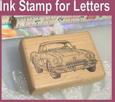 Corvette GM 1958 letter rubber ink stamp Picture of Vette