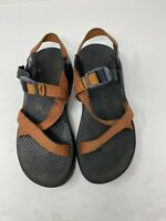 Chaco Women's Z/VOLV 2 Rust/Brown Sandals Size 8W Criss Cross Outdoor Active