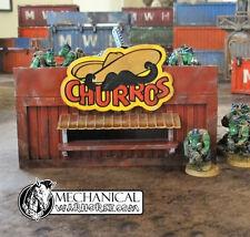 Churros Container - 40k 28 mm terrain Infinity Armageddon Necromunda Dark Age
