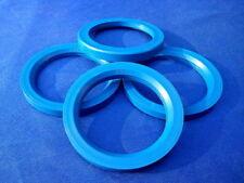 (T21-SL571P) 4 Stück  Zentrierringe 76,0 / 57,1 mm blau für Alufelgen