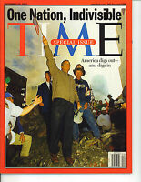 TIME Magazine September 24, 2001 Special Issue, One Nation Indivisible