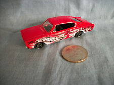 """Hot Wheels """"1967"""" Red Dodge Charger Made in China"""