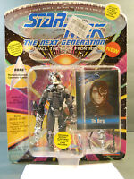 1993 Star Trek Next Generation THE BORG Figure Playmates 6077 COLLECTOR CARD #1