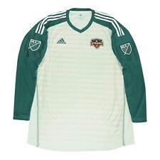 Houston Dynamo MLS Adidas Men's Green AdiPro Long Sleeve Goalkeeper Jersey