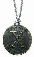 "Marvel Comics X-MEN FIRST CLASS Pendant Necklace On 20"" Bronze Tone Chain"