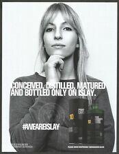 PORT CHARLOTTE HEAVILY PEATED Islay Single Malt Scotch Whisky - 2020 Print Ad