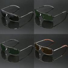 Polarized Men Square Aviator Sunglasses Anti Glare Fishing Golf Driving Glasses