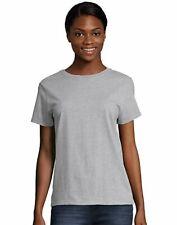 Hanes Womens Crewneck T-Shirt Relaxed Fit Jersey ComfortSoft Short Sleeve Cotton