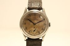 "ART DECO WW2 ERA RARE SUB SECOND MEN'S SWISS MECHANICAL WATCH""CYMA TAVANNES 3"""