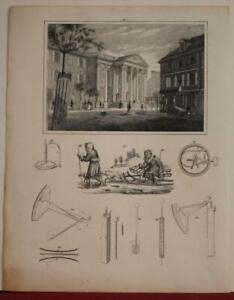 PHILADELPHIA GIRARD BANK PENNSYLVANIA UNITED STATES 1870 ANONYMOUS ANTIQUE VIEW