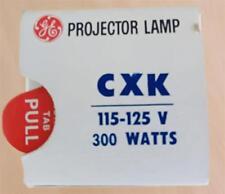 GE General Electric CXK Projetor Lampe 115V-125V / 300W