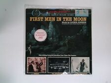 FIRST MEN IN THE MOON LP Motion Picture Score LAURIE JOHNSON Varese Sarabande