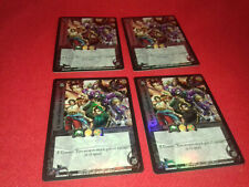 UFS Foil Promo Cards x4 - Soul Calibur - A Tale of Swords and Souls full playset
