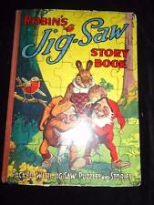 Robin's Jig-Saw Story Book jigsaw puzzle John Leng vintage childrens book JigPuz
