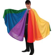Disfraces unisex de poliéster de color principal multicolor de talla única
