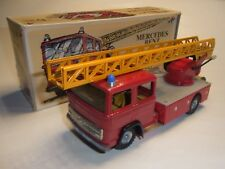 Kovap Fire Brigade Mercedes Benz Tin Toy slot car racing track railway
